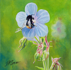 BEE III - ORIGINAL PAINTING
