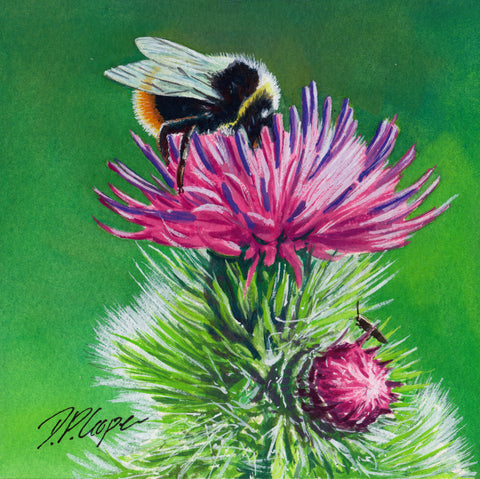 BEE IV - ORIGINAL PAINTING