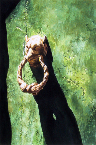 KNOCKER I - ORIGINAL PAINTING
