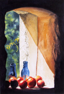 TOMATOES IN THE SUN - ORIGINAL PAINTING