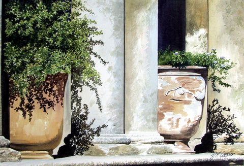 UZEZ POTS - ORIGINAL PAINTING