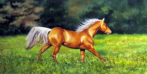 GALLOP - ORIGINAL PAINTING