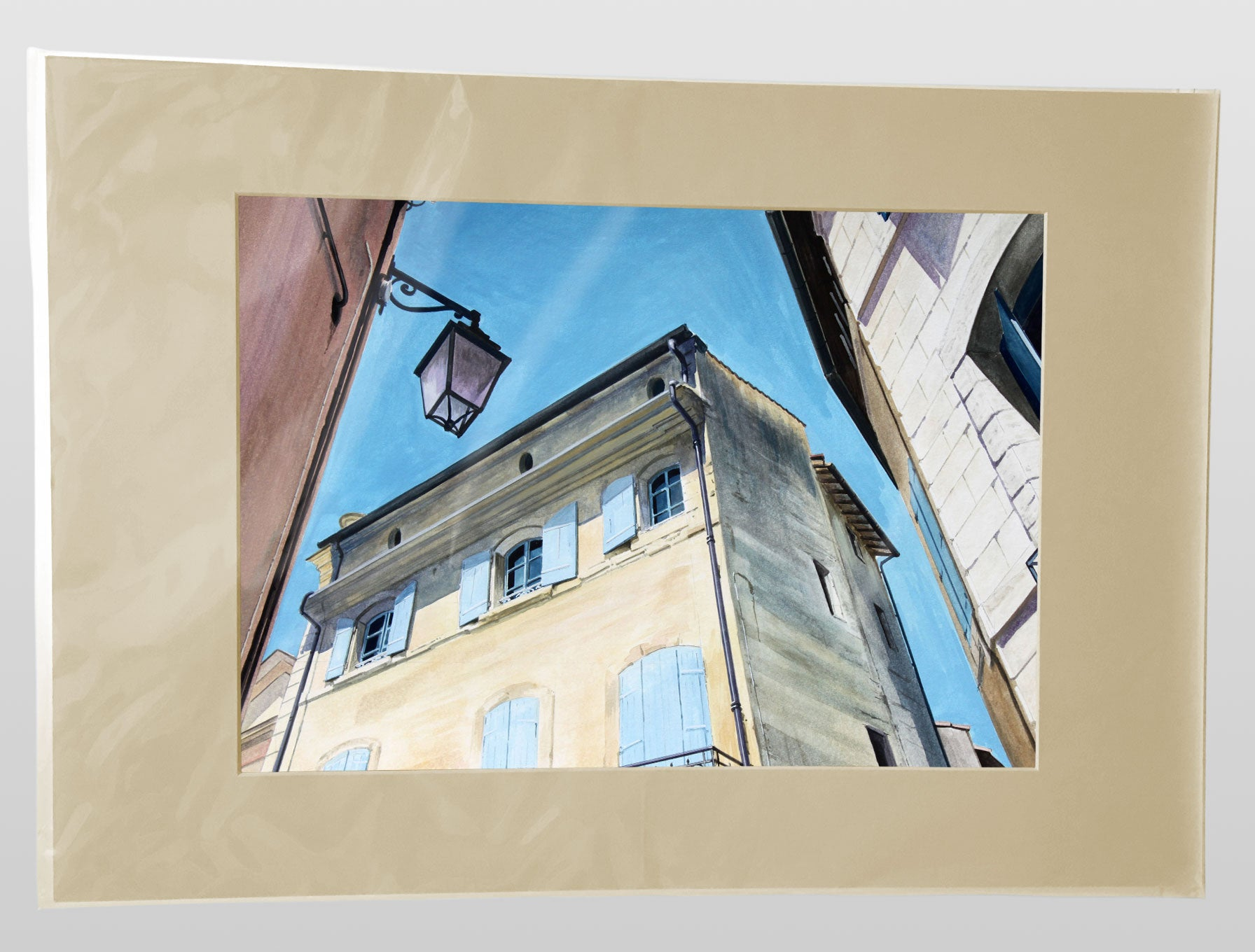 LOOKING UP, UZES - A3 Giclee art print