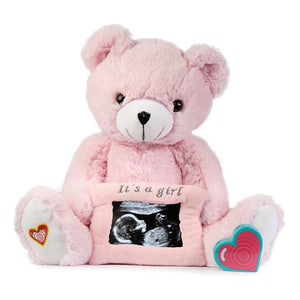 Gender Reveal Bear (with Frame)