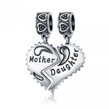 Load image into Gallery viewer, Mother & Daughter Charms
