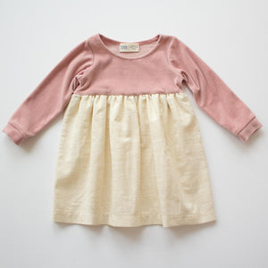 Thimble Playground Dress in Holiday Pink