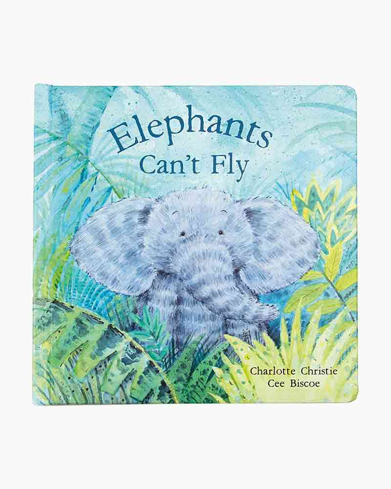 Jellycat Elephant's Can't Fly
