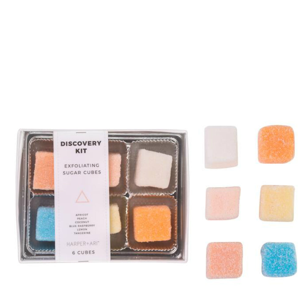Harper and Ari Exfoliating Sugar Cubes-Discovery Collection