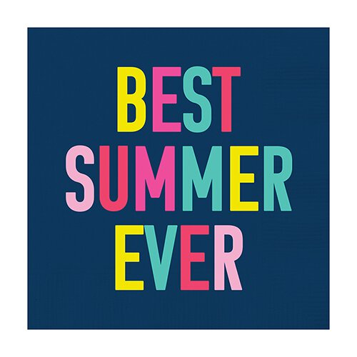 Slant Best Summer Ever Napkins