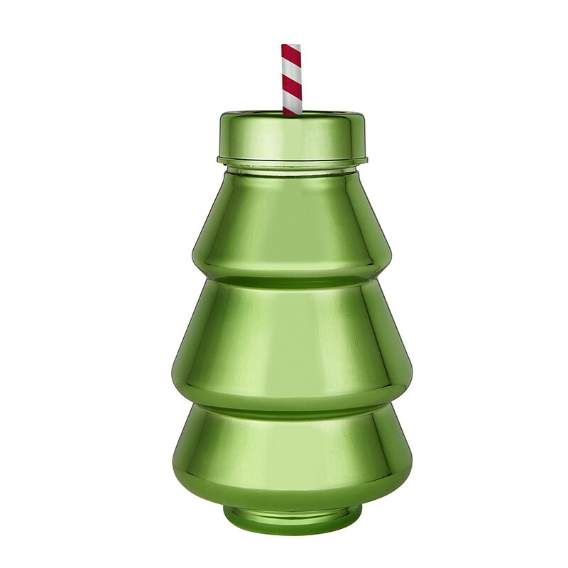Acrylic Tree Holiday Sipper
