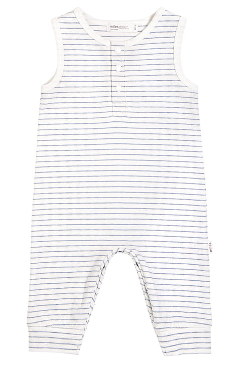 Miles Baby Sleeveless Knit Coverall