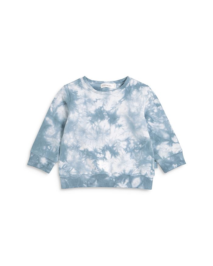 Miles Baby L/S Knit Top Blue Grey Baby