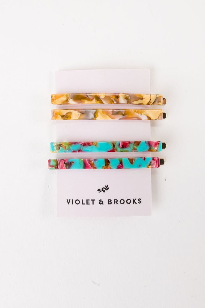 Violet and Brooks Bobbie Pin Set