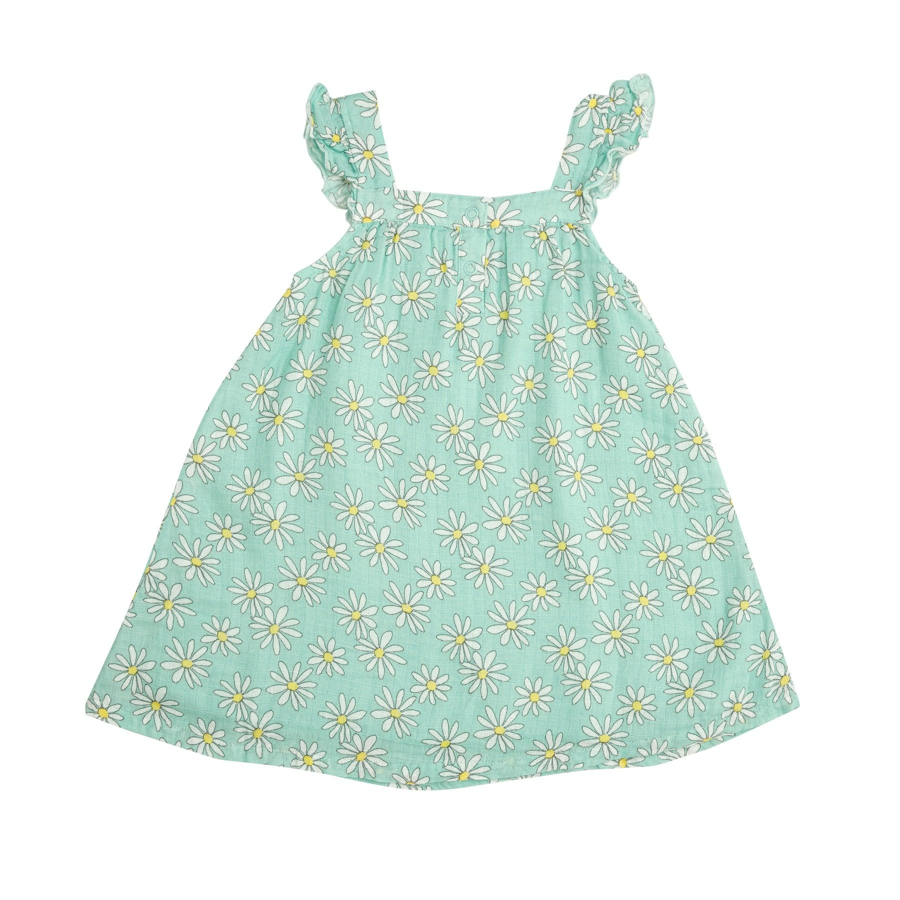Flower Power Mint Sundress