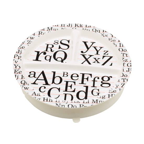 Ore Originals Vintage Alphabet Suction Plate
