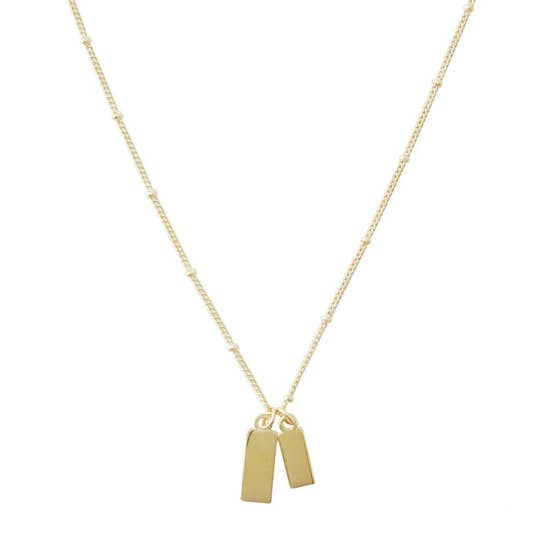Honeycat Tag Together Necklace