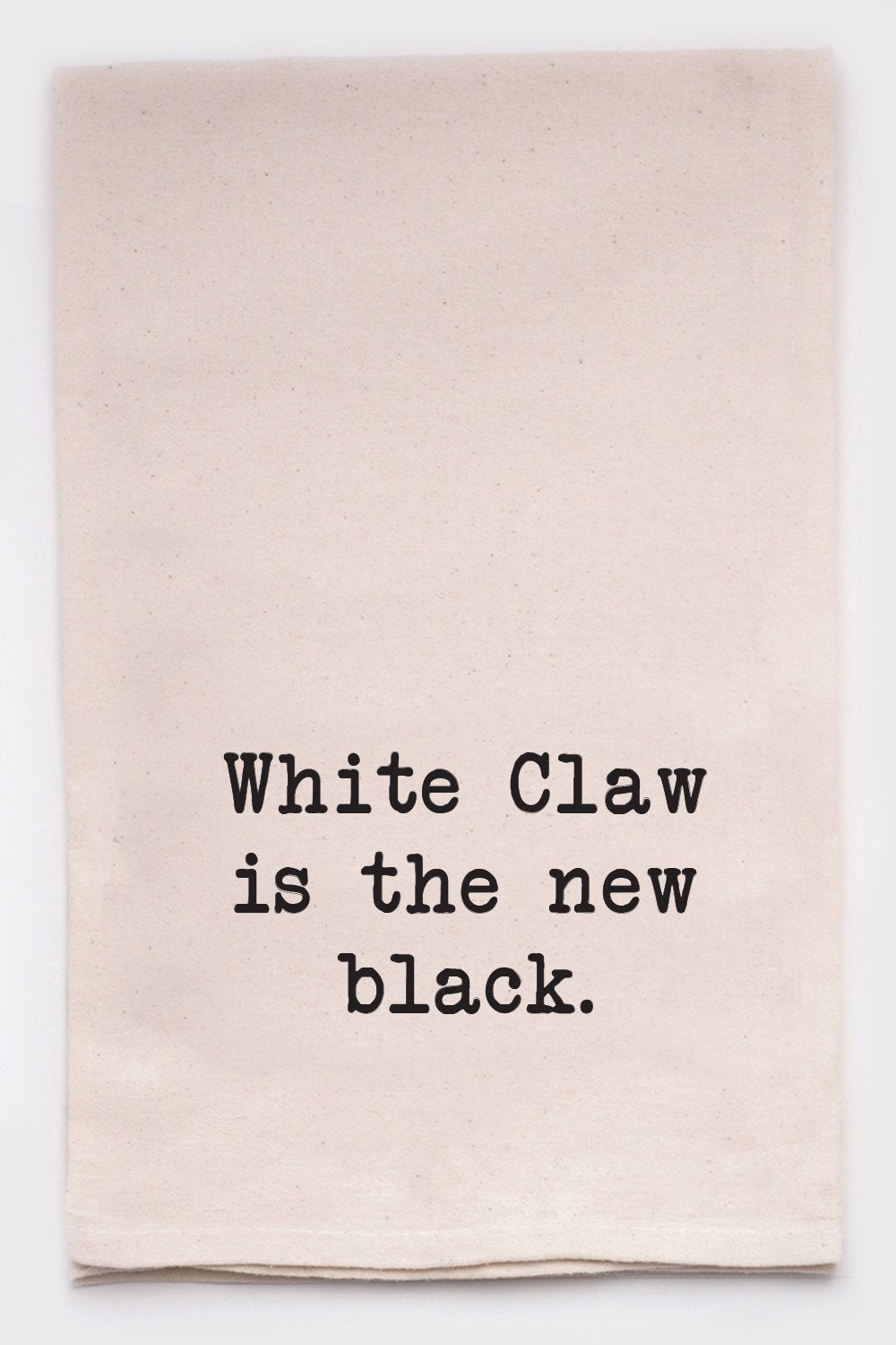 Ellembee Tea Towel-White Claw