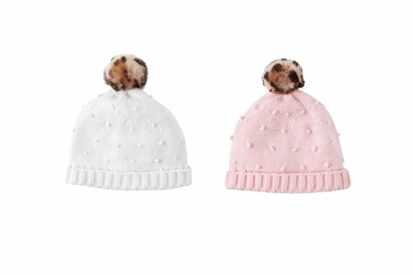 Mudpie Puff Knit Hat