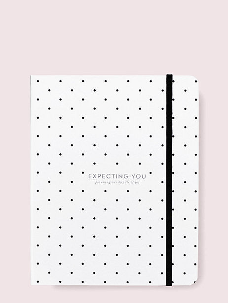 Kate Spade Expecting You Baby Planner