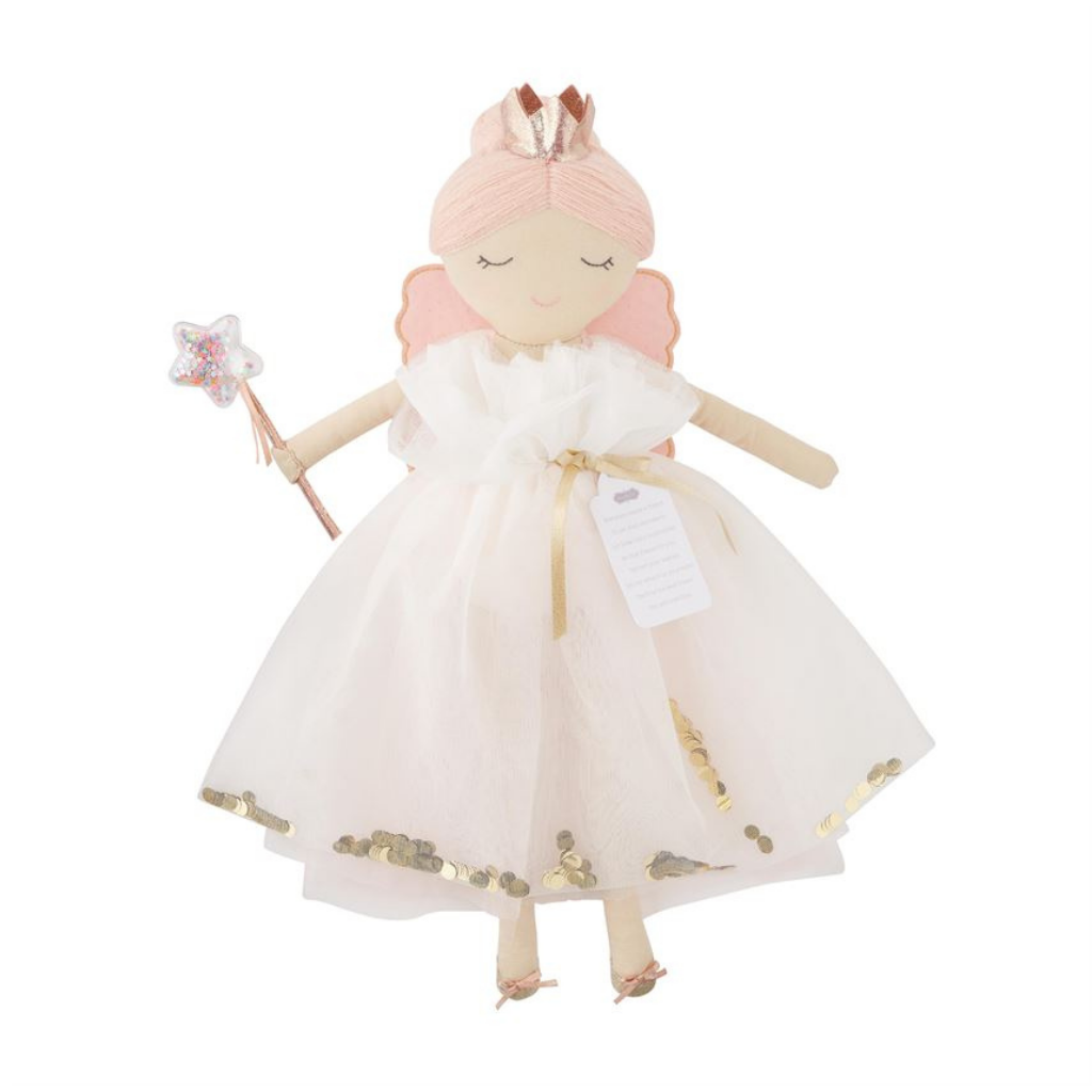 Fairy Godmother Doll Ivory Dress