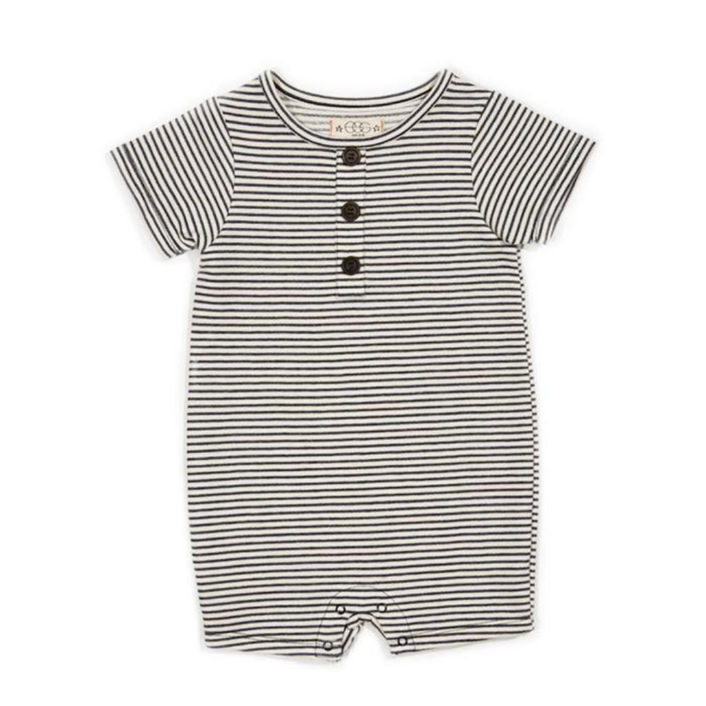 Egg Striped Ollie Romper