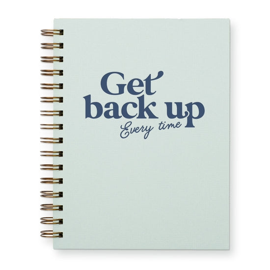 Get Back Up Every Time Journal