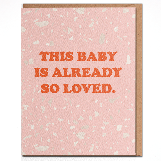 Daydream Baby So Loved Card