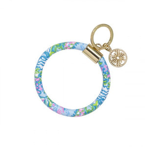 Lilly Pulitzer Round Key Chain-