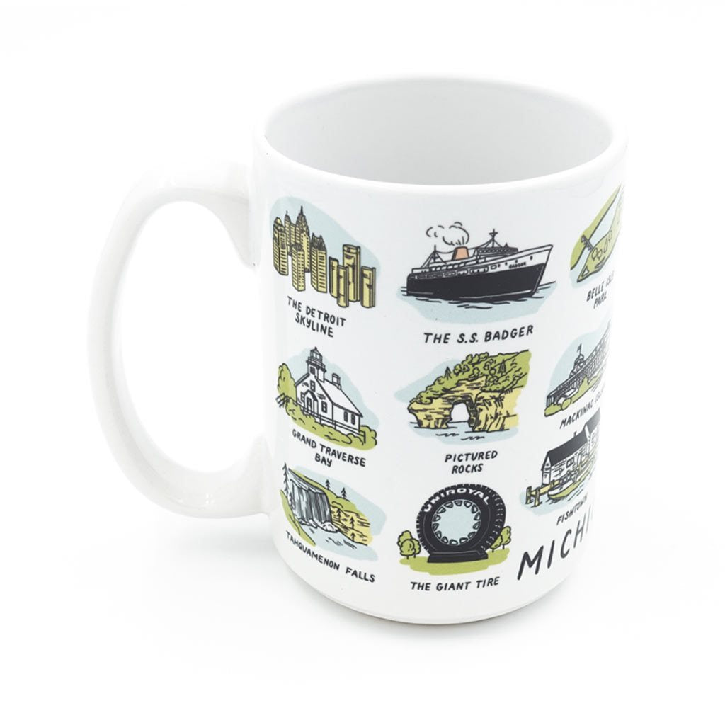 Michigan Sights Mug