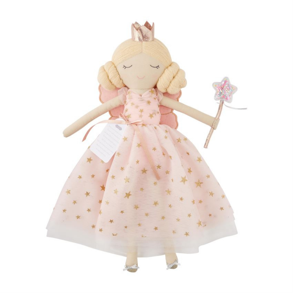 Fairy Godmother Doll Pink Dress