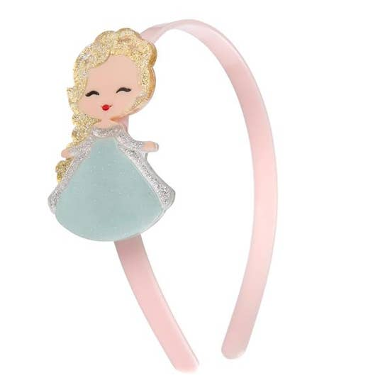 Lillies and Roses Elsa Doll Headband