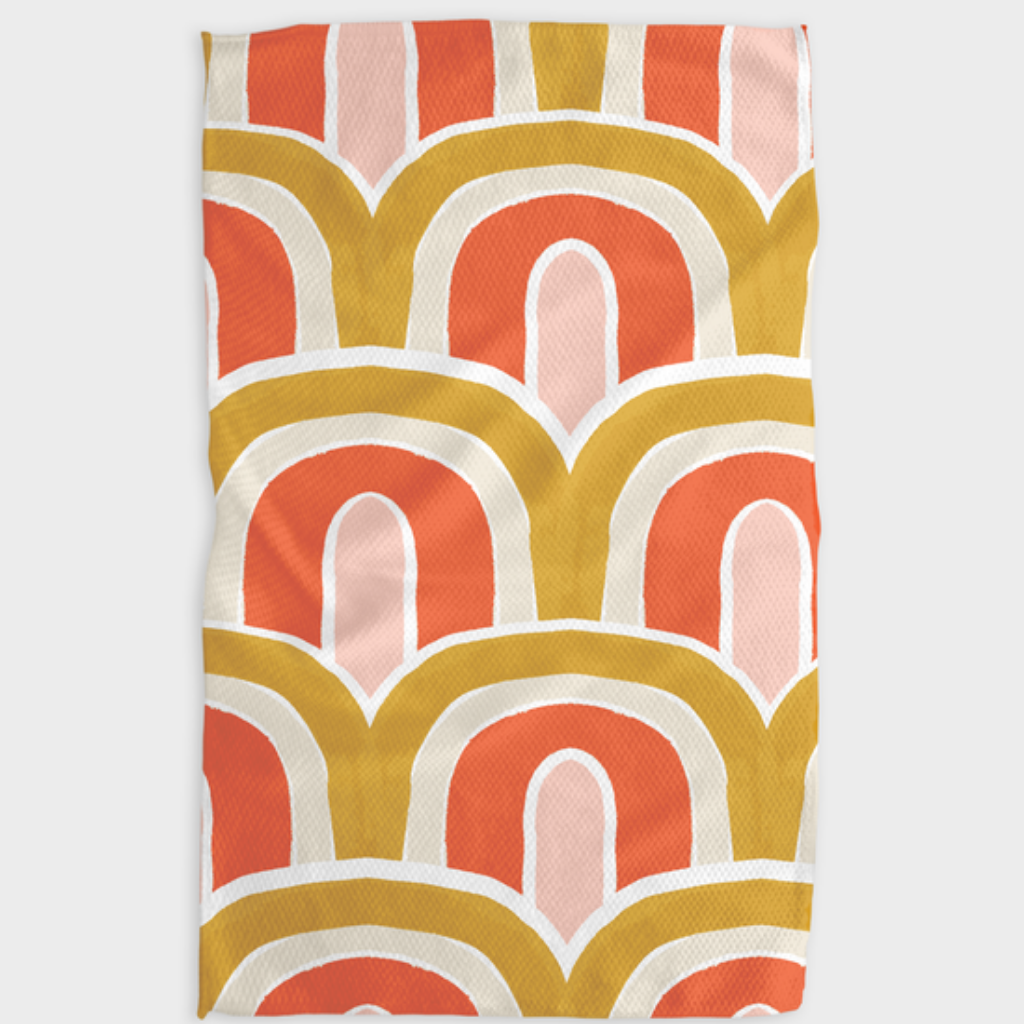 Geometry Kitchen Tea Towels