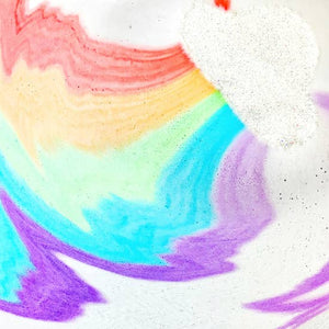 Feeling Smitten Rainbow Bath Bomb