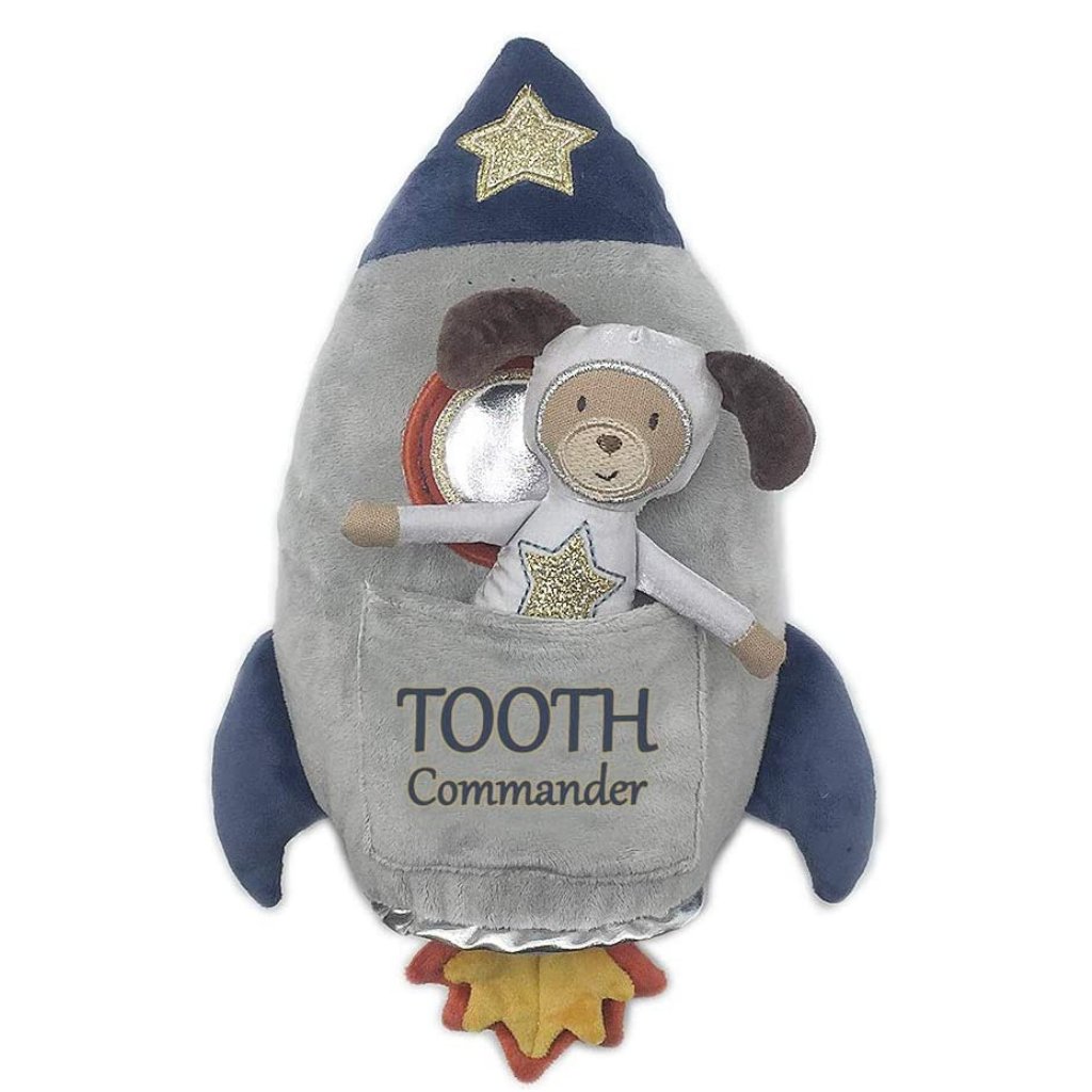 Spaceship Tooth Commander Pillow & Doll