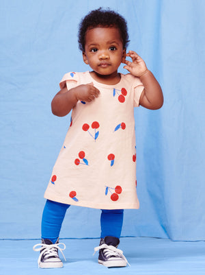Tea Petal Sleeve Baby Dress