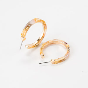 Violet and Brooks Bianca Hoop Earrings
