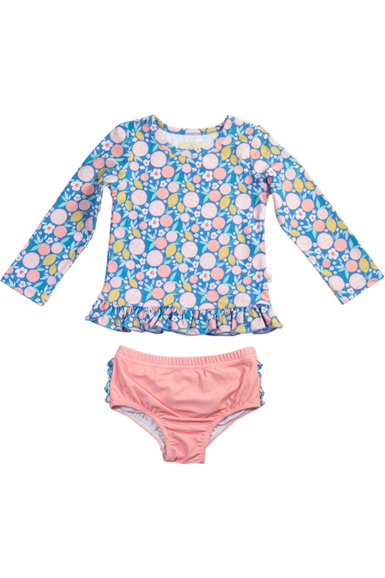 Charming Mary Citrus Splash Rashguard