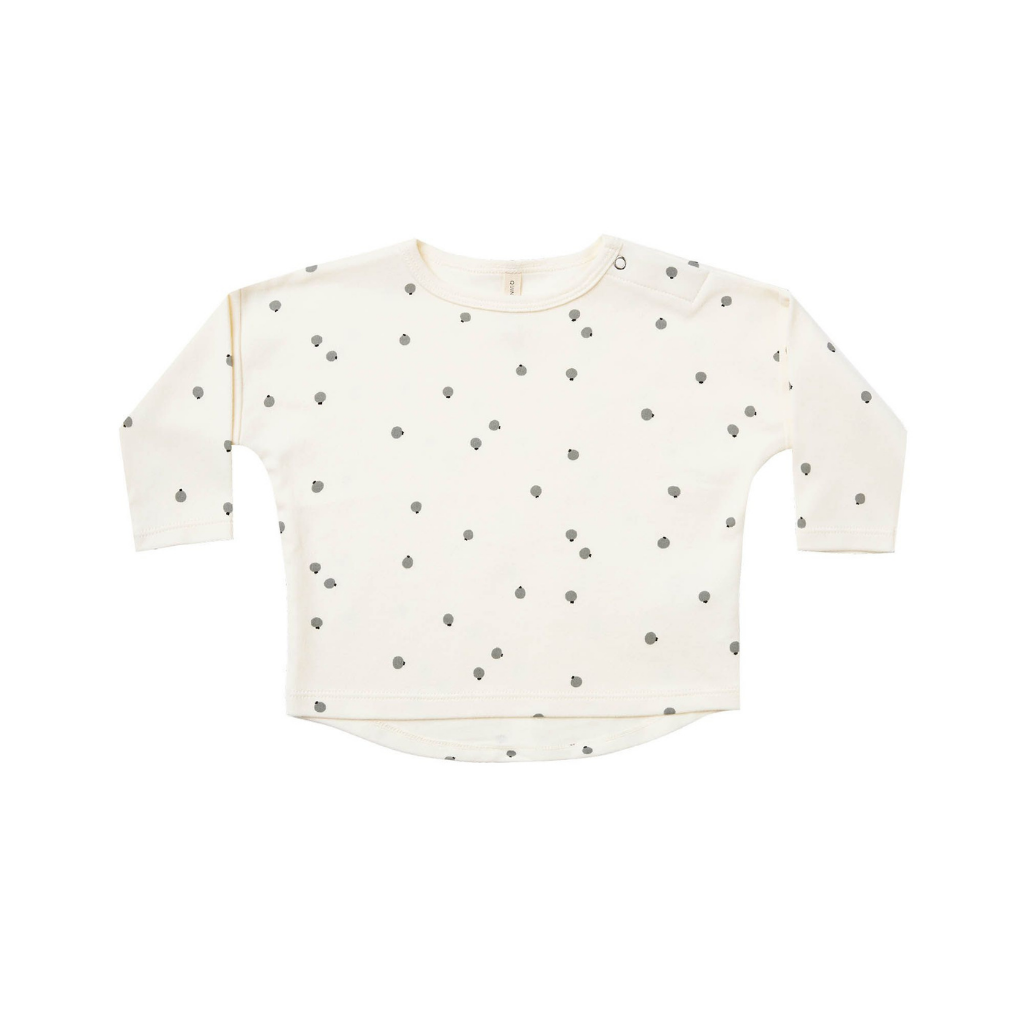 Quincy Mae Long Sleeve Baby Tee