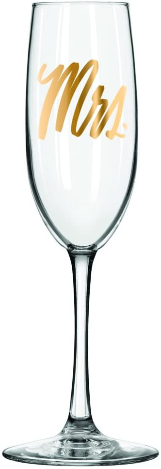 Mrs. Champagne Glass