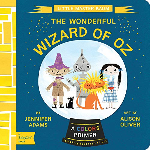 Baby Lit WIizard of Oz Board Book