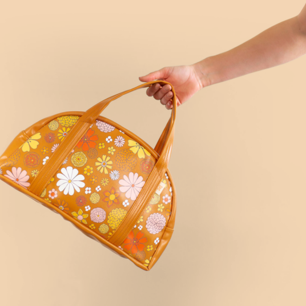 Talking Out Of Turn Lil' Miss Sunshine Flower Power Bag