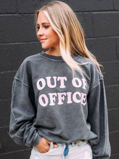 Friday and Saturday Out of Office Sweatshirt