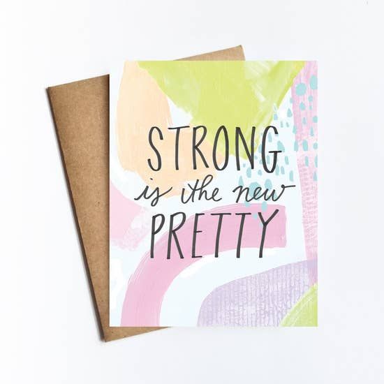 Live Love Studio-Strong is the New Pretty