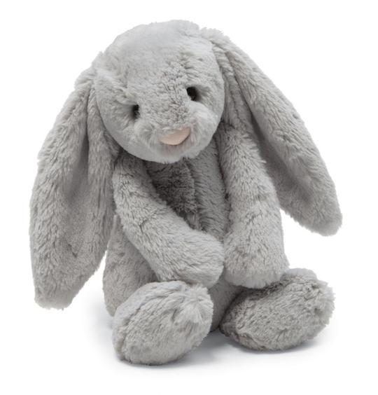 Jellycat Medium Bashful Bunny-Grey