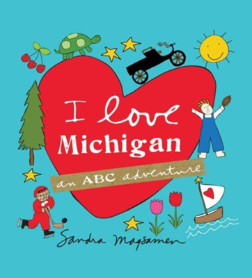 I love Michigan Book