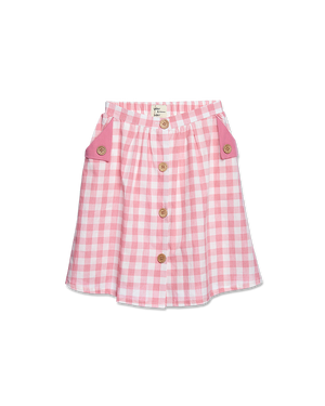 Wander & Wonder Button Skirt