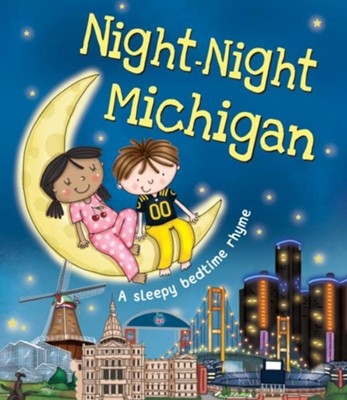Night Night Michigan Book