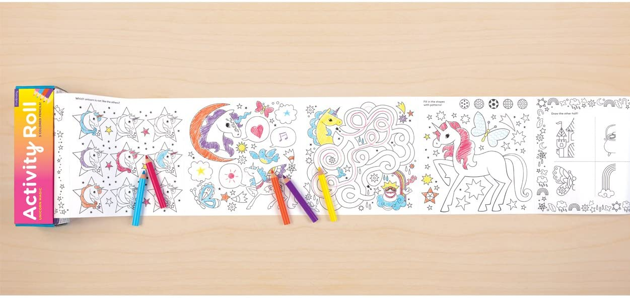Mudpuppy Unicorn Magic Activity Roll