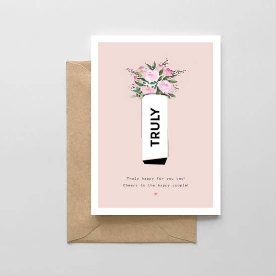 Truly Wedding Card