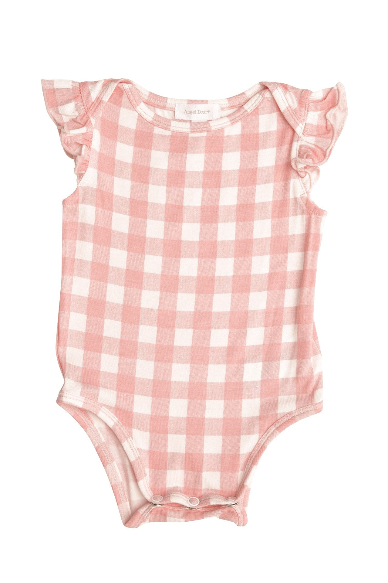 Gingham Ruffle Sleeveless One piece